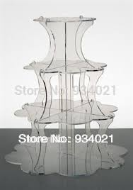 cake stands wholesale flower 4 tier acrylic wedding cake stands cupcake stands