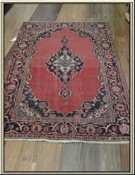 Red Blue Rug Iran Wool Area Rug Hamadan Colors Red Blue 4 U0027 X 6