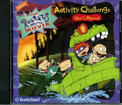 rugrats the rugrats movie activity challenge rugrats wiki fandom