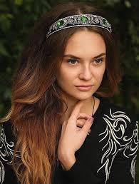 jeweled headbands 20 hairstyles with headbands for casual and festive looks