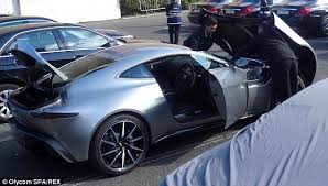 Aston Martin Db10 James Bond S Car From Spectre Daniel Craig Takes Top Secret Aston Martin Db10 Out For A Spin For