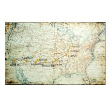 Route 66 Map Route 66 Highway United States Britannicacom Photo Collection Us