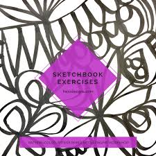 inspiration sketchbook pattern color letters treicdesigns