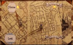 Harry Potter Marauders Map Harry Potter Inspired Map Clock Using A Raspberry Pi And Arduino