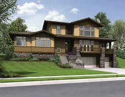 front sloping lot house plans front sloping lot house plans home planning ideas 2018