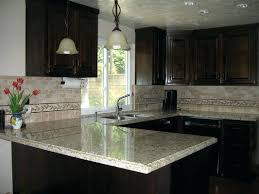 white kitchen granite ideas brown cabinets with white countertops sowingwellness co