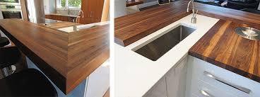 comptoir cuisine bois comptoir de bois design cuisine rénom3