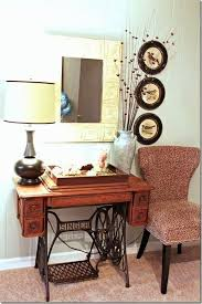 Singer Sewing Machine Cabinets by Best 25 Antique Sewing Machine Table Ideas On Pinterest Antique