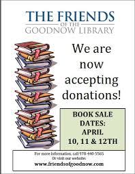 Seeking Book Friends Are Seeking Book Donations Goodnow Library