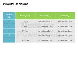 decision matrix diagrams editable ppt slides