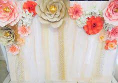 wedding backdrop layout paper flowers backdrop wedding paper backdrop