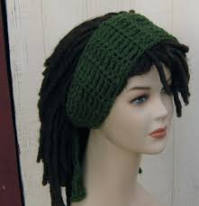 bandana hippie thyme green dread headband dreadband hair band wrap scarf