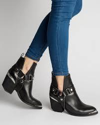 orwell boot jeffrey cbell orwell hmt ankle boots black zando