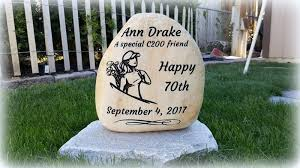 Engraved Garden Rocks Personalized Garden Rocks And Stepping Stones Free Shipping