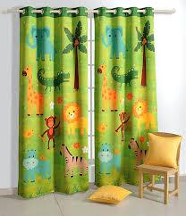 black curtain amazon com safari fun blackout door curtains for