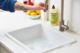 Cleaning Kitchen Sink by How To Clean Your Kitchen Sink U0026 Disposal Apartment Therapy