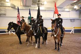 Unit Ribbon Cut On New Mounted Unit Headquarters Nypd News