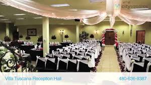 reception halls in az villa tuscana reception