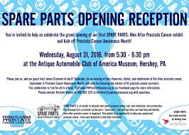 Hershey Pennsylvania Map Spare Parts Opening Reception Pa Prostate Cancer Coalition