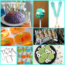 mad scientist party food and drink ideas mad scientist party