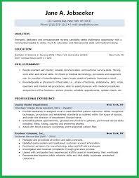 Resume Builder For Nurses Sample Nursing Student Resume Resume Templates
