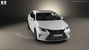 lexus sedan hybrid models 360 view of lexus es hybrid 2015 3d model hum3d store