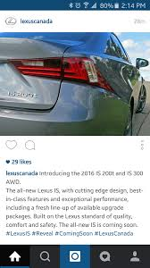 lexus is300 model year changes u s 2016 lexus is300 and rc300 page 9 clublexus lexus