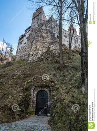 secret underground entry to bran castle brasov county romania