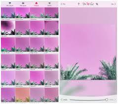 to create candy coloured photos