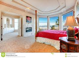 luxuriant master bedroom with fireplace stock photos image 37512253 angled bedroom fireplace