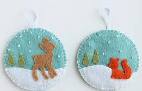 felt christmas ornaments u2013 cute diy christmas ornaments and
