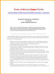 Financial Power Of Attorney Form by 3 Medical Power Of Attorney Form Florida Attorney Letterheads