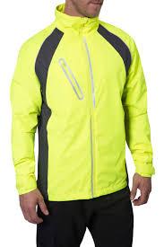 fluorescent cycling jacket mens running jackets hi viz jackets mountain warehouse gb