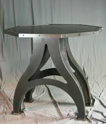 round poker table with dining top buy a hand made octagon industrial dining table round avail poker