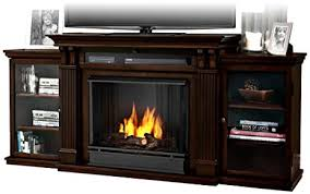 Real Flame Electric Fireplaces Gel Burn Fireplaces Amazon Com Real Flame Calie Entertainment Center Ventless Gel