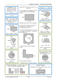 Worksheet Works Calculating Area And Perimeter Answers Search Results Teachit Maths