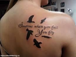 59 gorgeous lettering shoulder tattoos