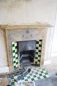 Victorian Cast Iron Bedroom Fireplace To Restore A Cast Iron Fireplace