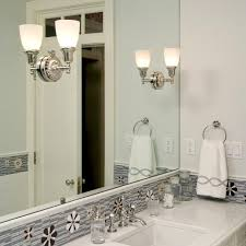 Vanity Sconce Sunflower Sconces Mounted Directly To Mirror Provide Ample Vanity