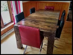 table en bois de cuisine table de cuisine bois furniture tables rustiques et en bois bniste