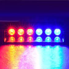 amber lighting danbury ct 6led 6w windshield led strobe light car flash signal emergency