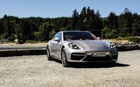 porsche panamera hatchback 2017 porsche panamera plus turbo plus hybrid equals max boost