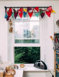 no sew window valance ideas ao life live