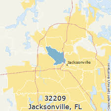 Jacksonville Florida Map With Zip Codes Best Places To Live In Jacksonville Zip 32209 Florida