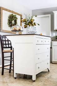Kitchen Island Out Of Dresser - dresser turned kitchen island color benjamin moore medichi