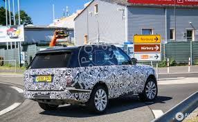 pajero land rover land rover range rover 2018 22 june 2017 autogespot