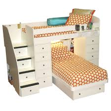 Space Saver Bed Berg Furniture Sierra Spacesaver Twin Over Twin With 2 Chests
