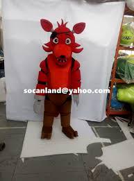 Mascot Costumes Halloween Fnaf Foxy Mascot Costume Fnaf Foxy Cosplay Costumes Fnaf Foxy