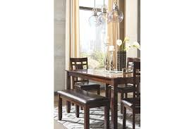 Table And Chairs For Dining Room by Bennox Dining Room Table And Chairs With Bench Set Of 6 Ashley