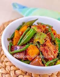ingredient cuisine pinakbet recipe tagalog